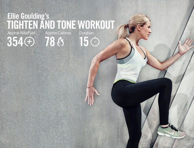 Elli Goulding Tighten and Tone Workout